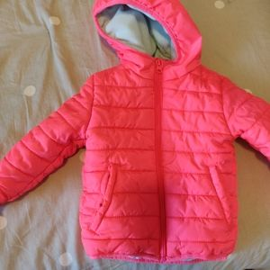 Cat & Jack Pink Puffer Jacket